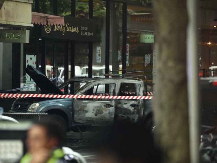 Knife rampage terror attack in Melbourne