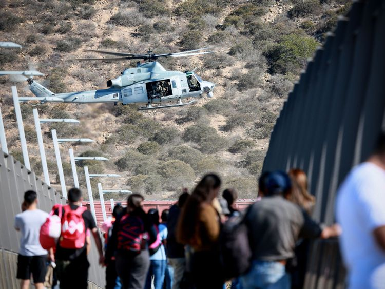 mexico to deport migrants who tried to breach us border