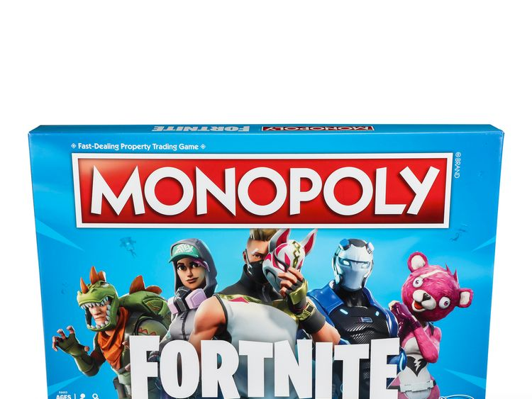 Monopoly Fortnite is the cheapest toy on the top 12 list