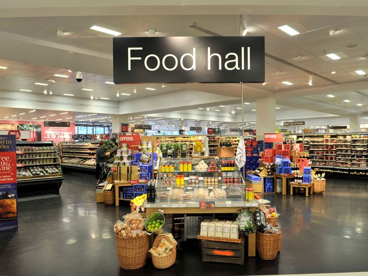 M&S has reportedly explored splitting the food offering from its wider retail operation. Pic: M&S