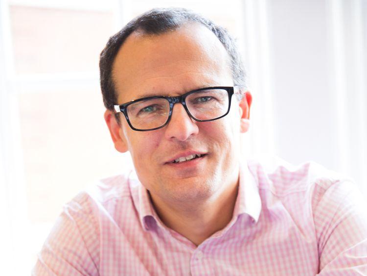 Oliver Plunkett, CEO of Ocean Infinity