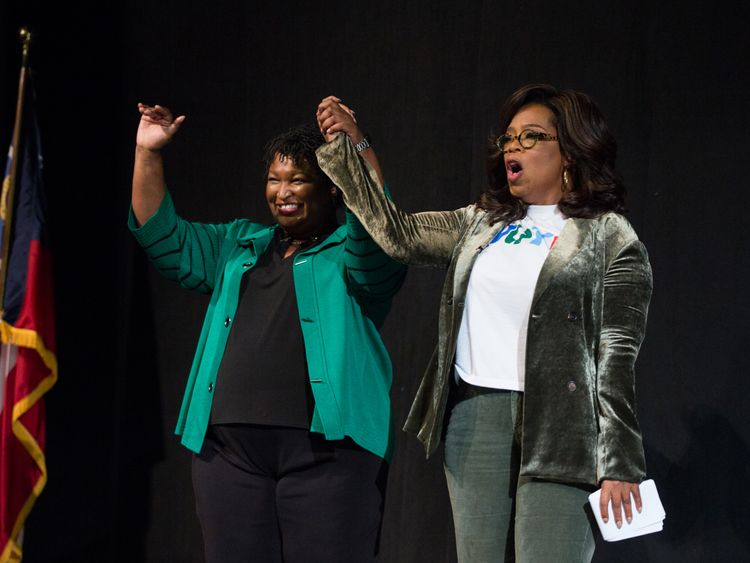 Oprah Shocks Georgians While Canvasing for Stacey Abrams