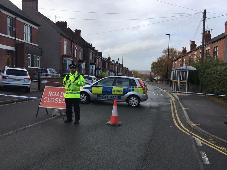 Four people have died following a road collision in the Darnall area of Sheffield