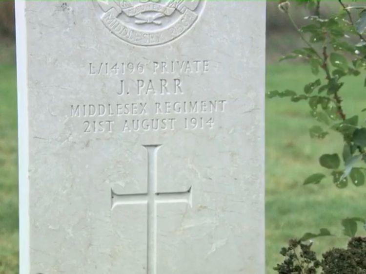 Private John Parr was a teenage soldier who had lied about his age to join up
