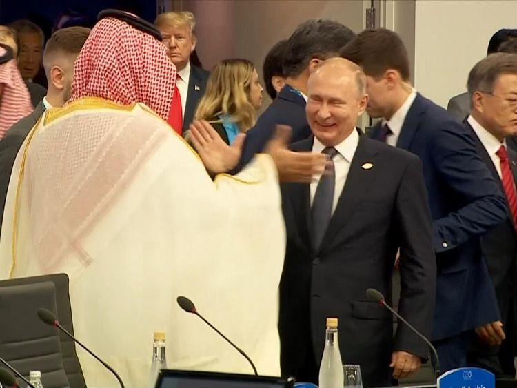 Putin and Bin Salman