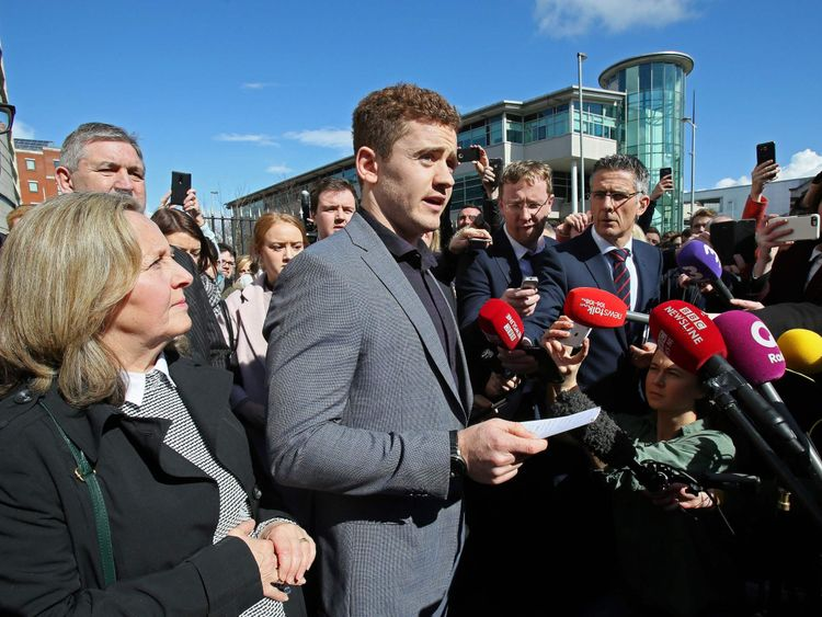 A media furore surrounded the trial of Paddy Jackson