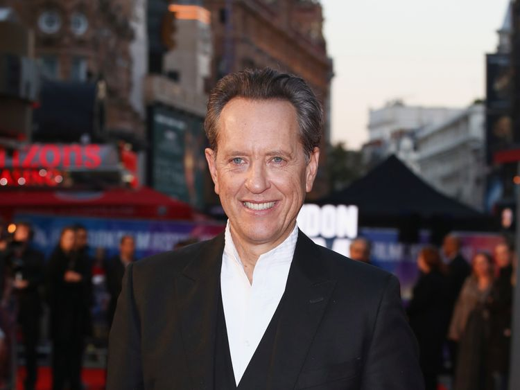 Richard E Grant attends the UK Premiere of Can You Ever Forgive Me? & Headline gala during the BFI London Film Festival 2018