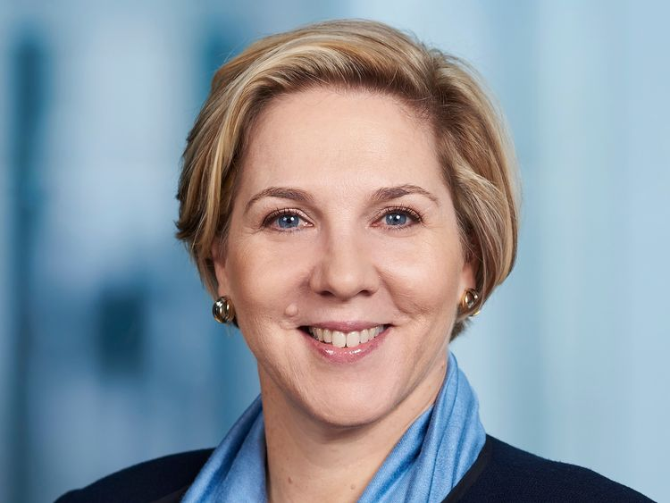 Robyn Denholm has only been CFO at Telsta for four months. Pic: Telstra