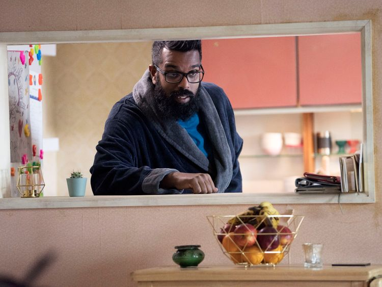 Romesh Ranganathan stars in new Sky One series The Reluctant Landlord