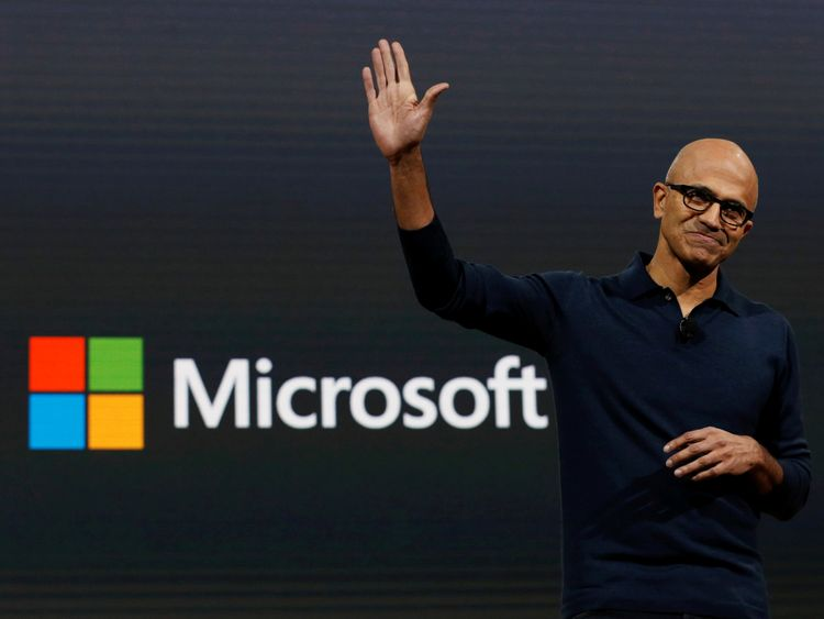 Microsoft Chief Executive Officer Satya Narayana Nadella