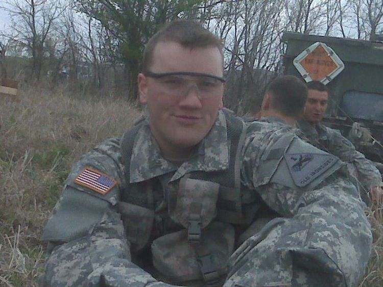 Scott Paul Beierle pictured in Germany. Pic: Facebook