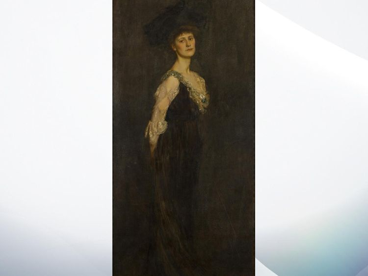 Constance Markievicz did not take her seat Pic: Hugh Lane gallery
