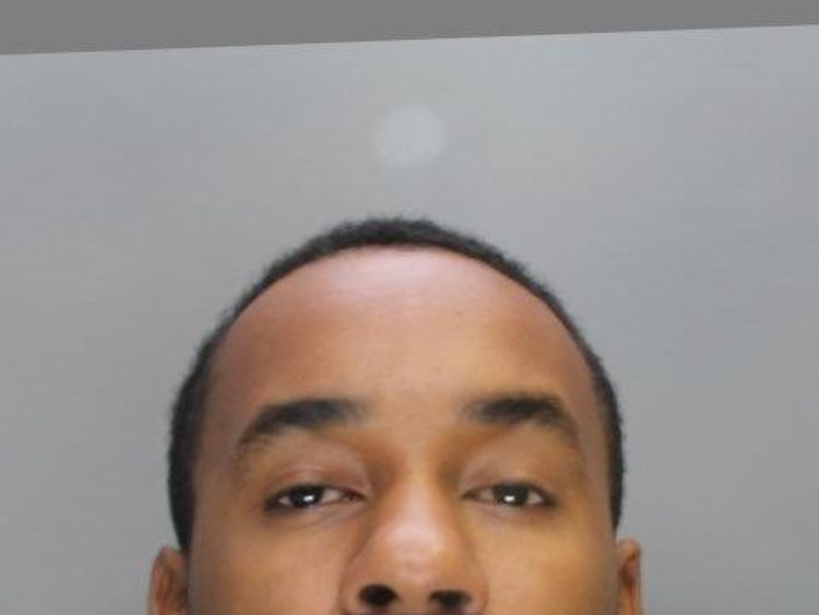 Tarquinn Orgill, 34, was sentenced to five years in prison. Pic: City of London Police