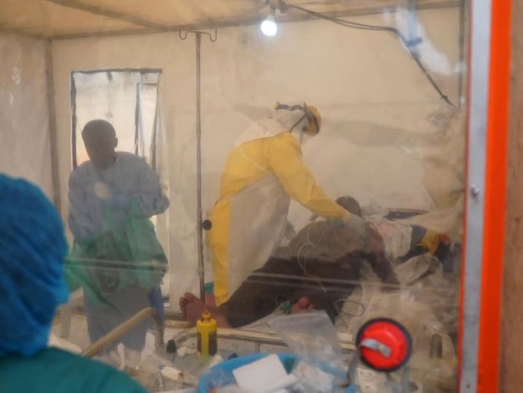 US Worried about Ebola Outbreak In Congo Conflict Zone