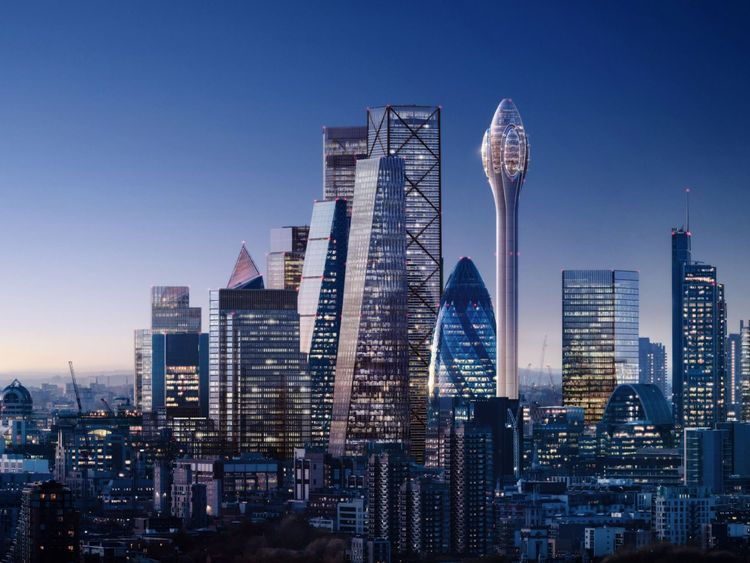 Plans for a new skyscraper, dubbed The Tulip, have been unveiled