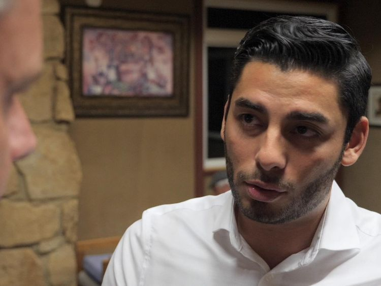 Running for office in California is Ammar Campa-Najjar, a 29-year-old Mexican Palestinian American
