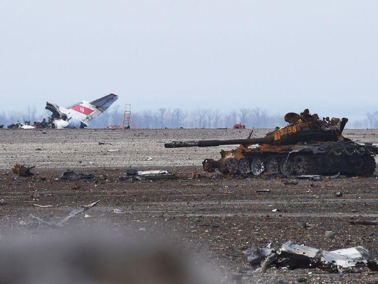 Conflict has left devastation and 10,000 dead in Ukraine