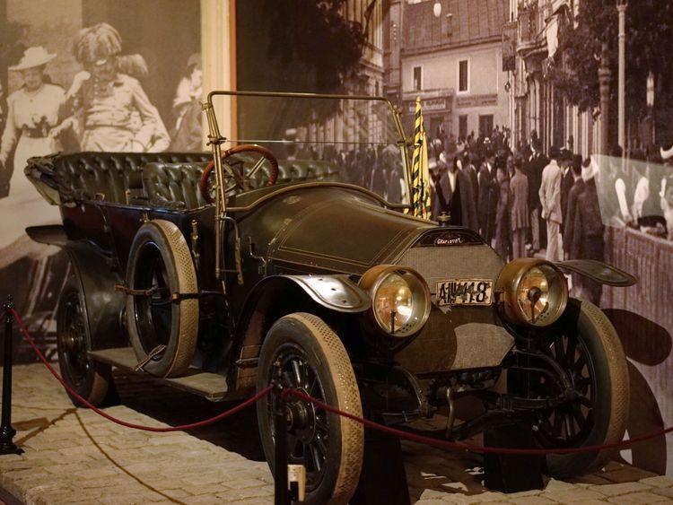 'A II II 18': Franz Ferdinand's prophetic number plate