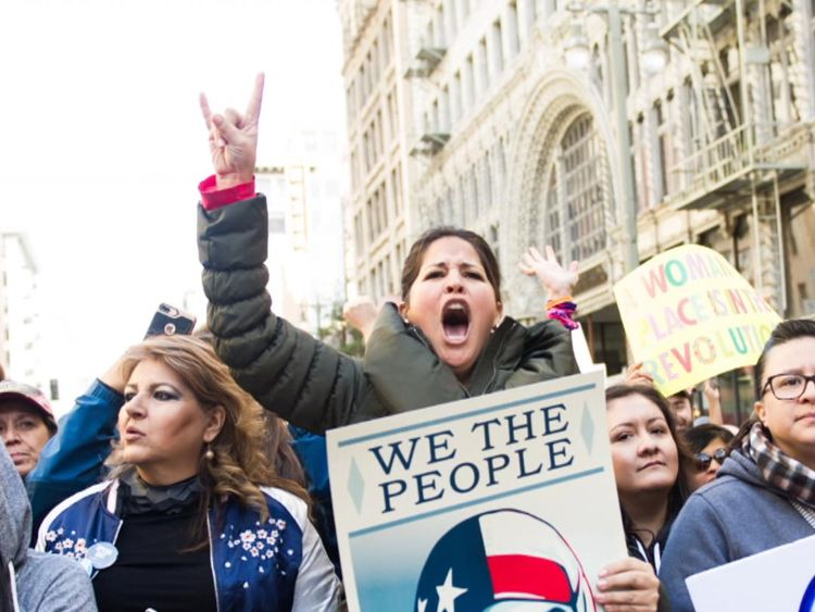 Since Trump was elected, activism among women has surged