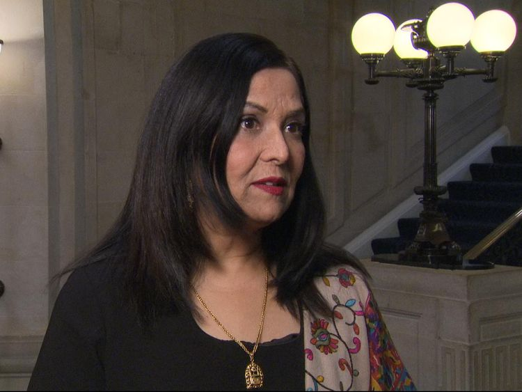 Yasmin Qureshi was the first Muslim woman elected to parliament