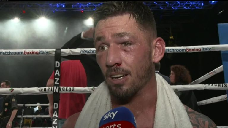 Tony Conquest falls to defeat in Florence as Joe Hughes wins European title | Boxing News |