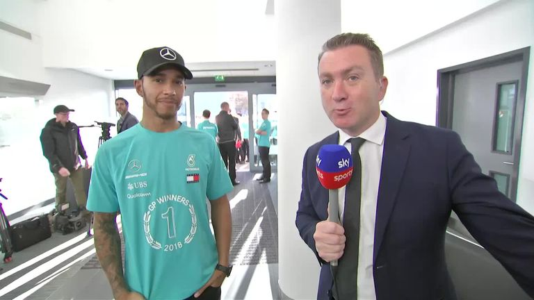 Team energy will power Mercedes to more titles, says Lewis Hamilton