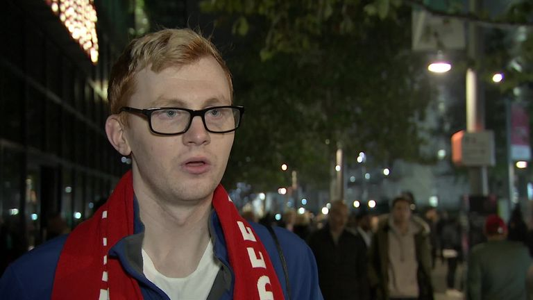 Joe White, from the England fans group Three Lions Pride, has called on everyone involved in football to stand up for LGBT equality and inclusivity