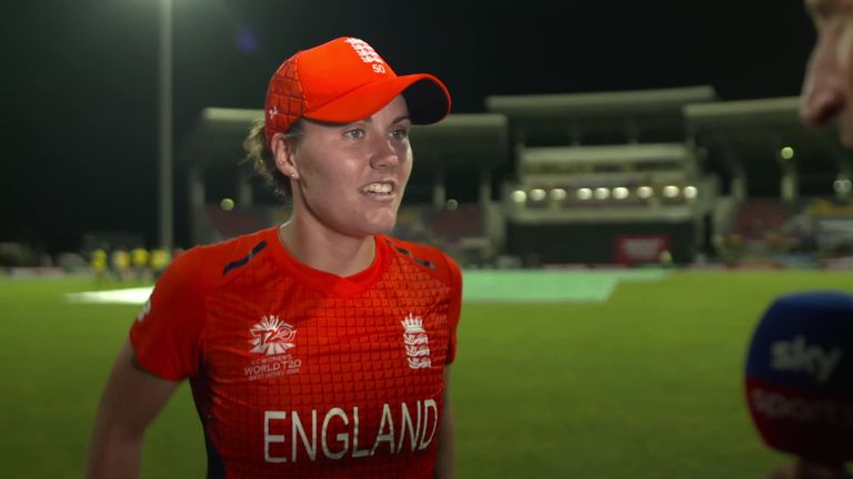 All-rounder Nat Sciver says England Women's clinical eight-wicket victory over India will stand them in good stead for the final