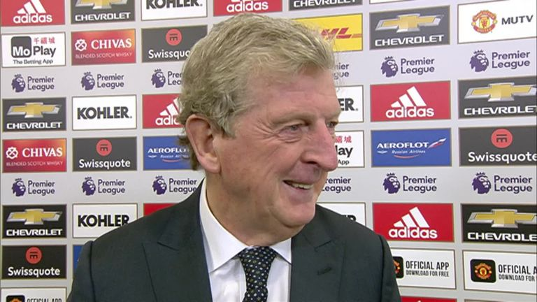 Roy Hodgson proud of Crystal Palace after Old Trafford draw | Football News |