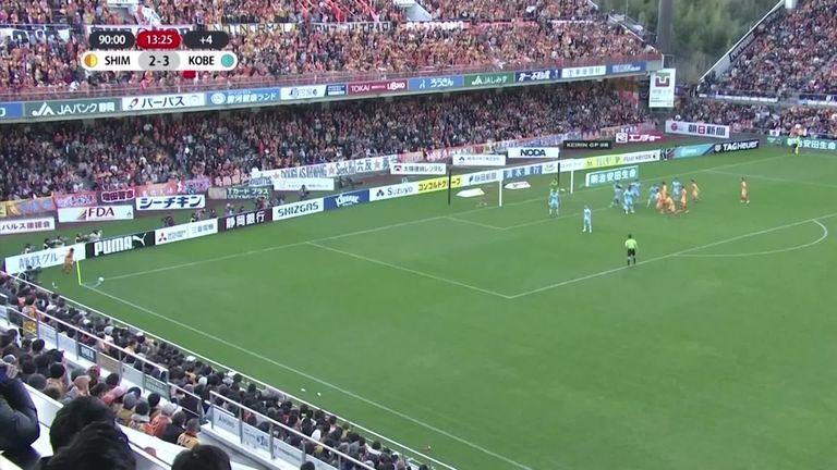 Goalkeeper Yuji Rokutan scores equaliser in 14th minute of stoppage time | Football News |