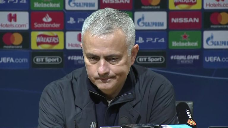 Jose Mourinho takes aim at critics after Man Utd seal Champions League progress | Football News |
