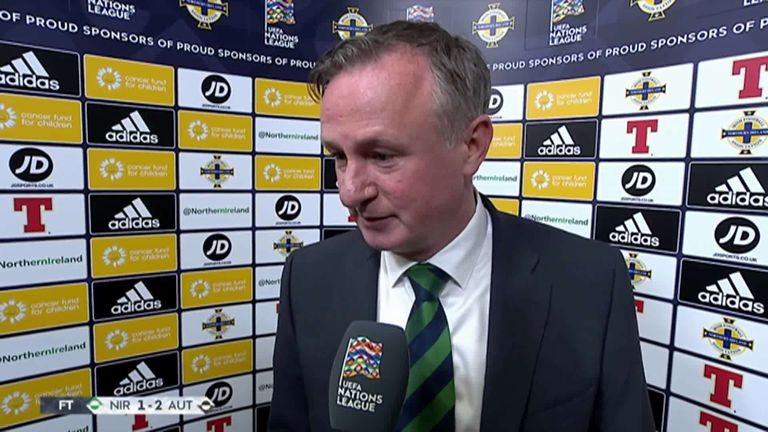 Michael O'Neill says Northern Ireland did not deserve to lose against Austria | Football News |