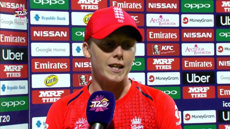 England captain Heather Knight was proud of the way the team's inexperienced players performed in their run to the World T20 final.