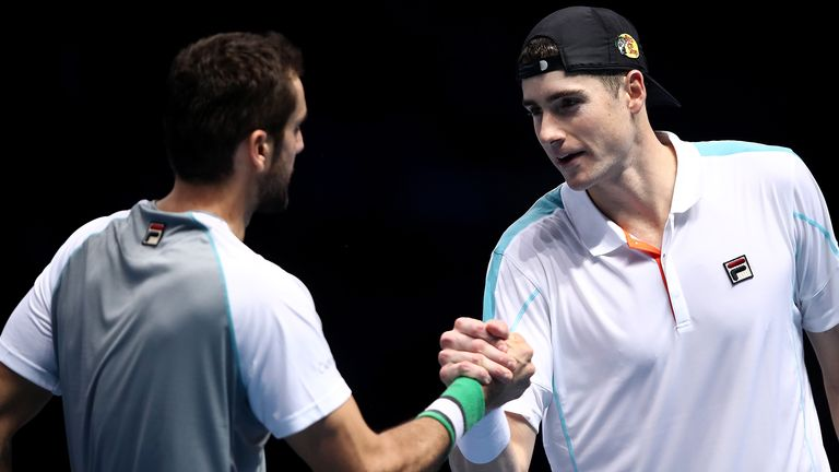 Marin Cilic claims first three-set win of ATP Finals against John Isner | Tennis News |