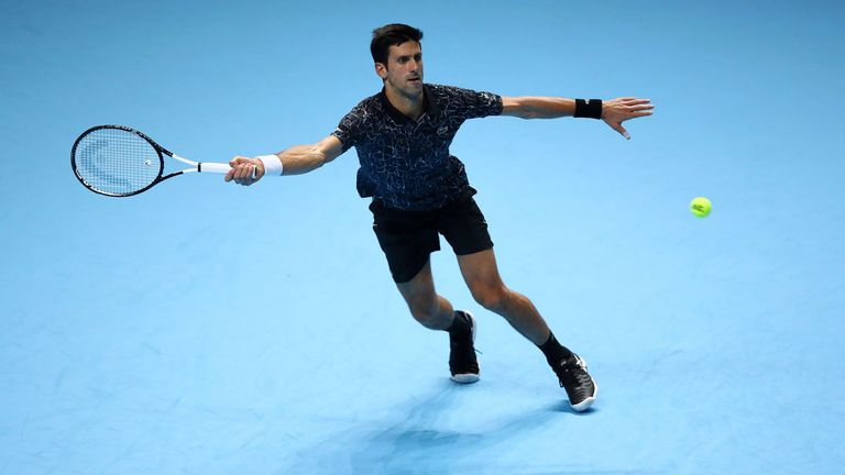 Novak Djokovic warms up for semi-finals with impressive Marin Cilic victory at ATP Finals in London  | Tennis News |
