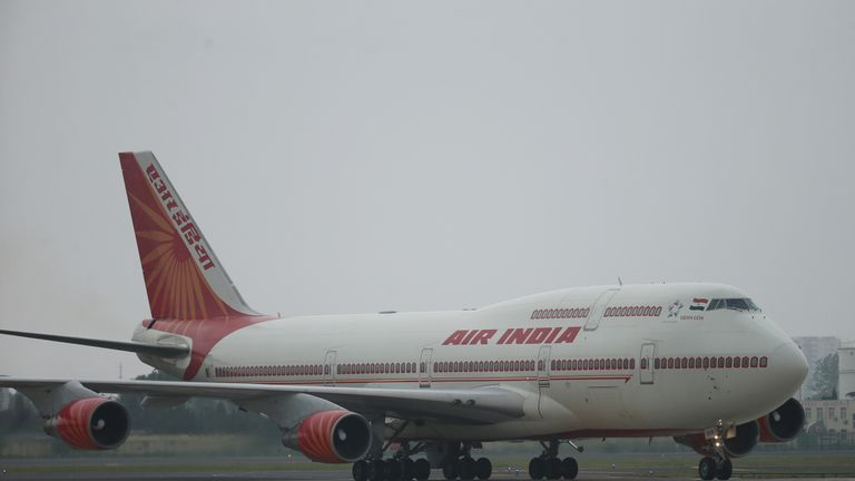 Air India is state-owned. File pic