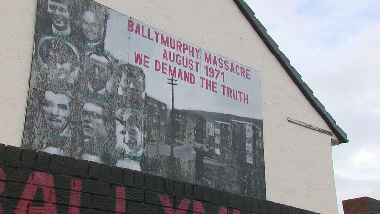 Inquest begins into the Ballymurphy Massacre of 1971 . Blevins VT