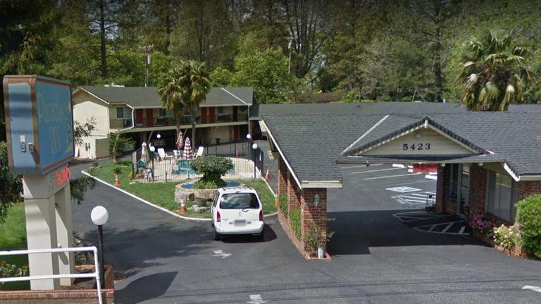 The Paradise Inn hotel  Camp Fire