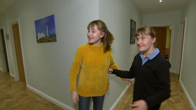 Beth and Olivia were born at Royal Shrewsbury Hospital