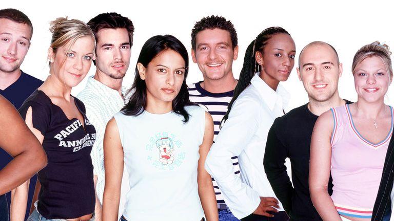 Big Brother 3, featuring Kate Lawler, Alison Hammond, Jade Goody and PJ Ellis