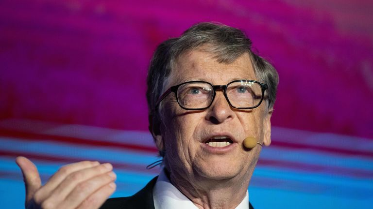 Bill Gates has spoken at the Reinvented Toilet Expo in Beijing