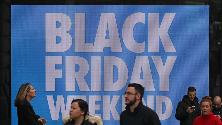 Black Friday originated in the US before moving to the UK