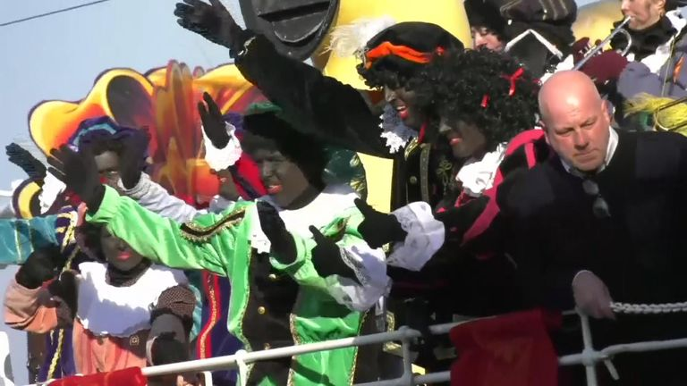 The tradition involving Zwarte Piet is popular with many Dutch people