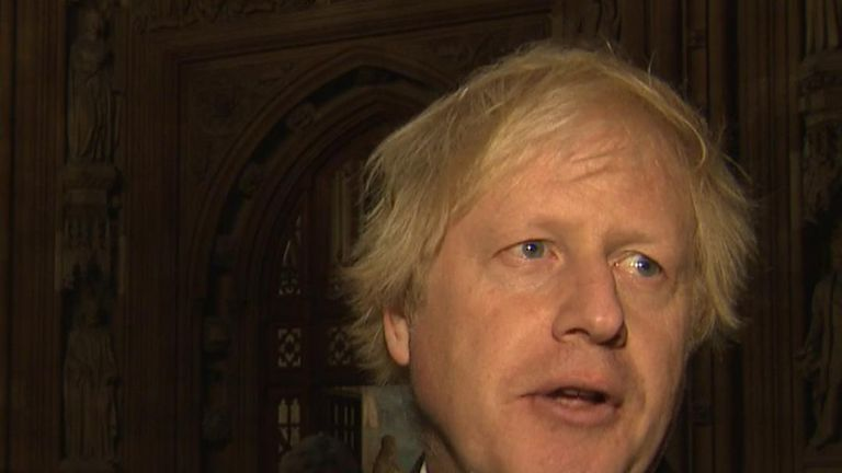 Boris Johnson is unimpressed with the proposed Brexit deal being shown to cabinet members