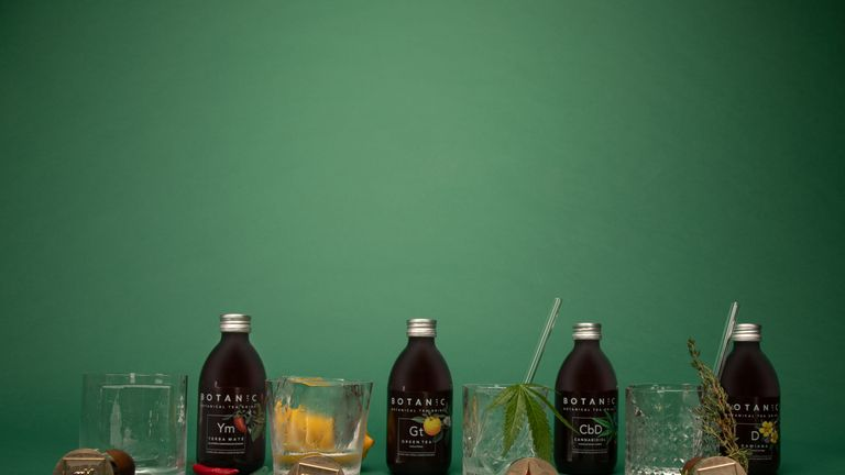 The new Botanic Lab cannabidiol tea drink was launched in September. Pic: BL