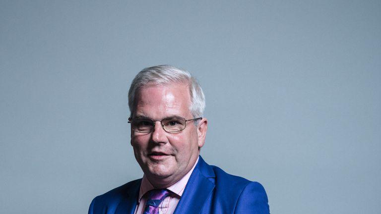 Labour's Mark Tami joins the Privy Council. Pic: UK Parliament