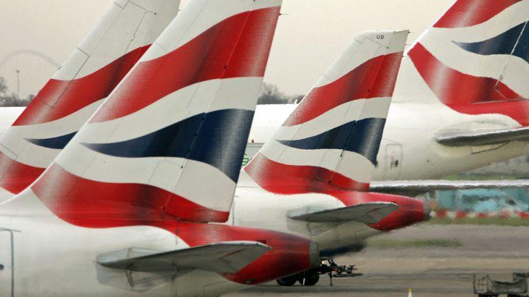 Disruption to the British Airways flight caused anger among passengers