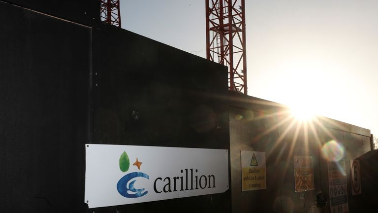KPMG was Carillion's auditor prior to its demise