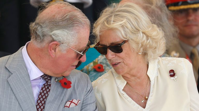 The Duchess of Cornwall says she wishes people could see his lighter side