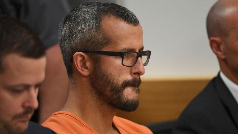 Christopher Watts: Man who killed pregnant wife and